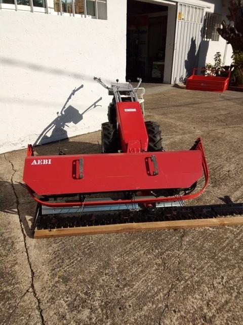 Agroem - Motosegadora AEBI AM41 con hilerador - AGROEM Maquinaria Agrícola y Jardinería